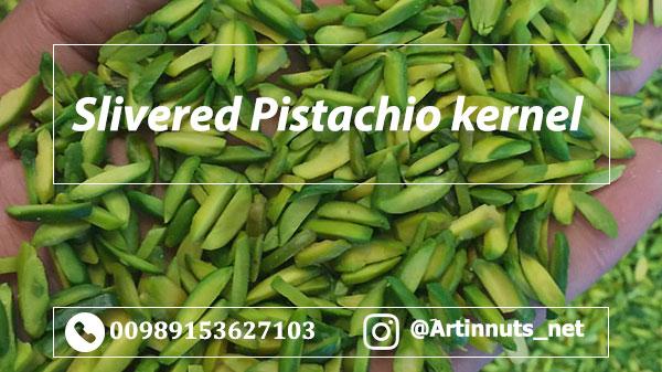 Slivered Pistachio Kernel