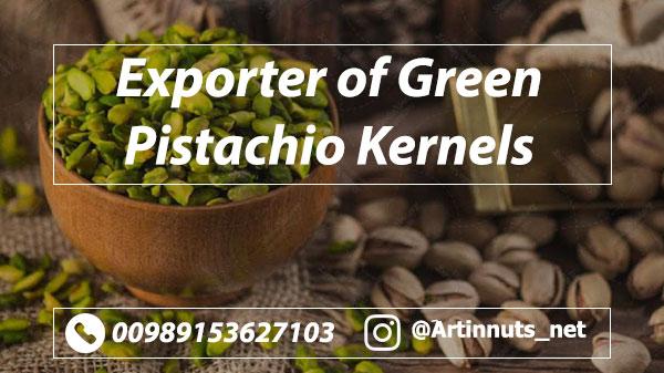 Exporter of Green Pistachio