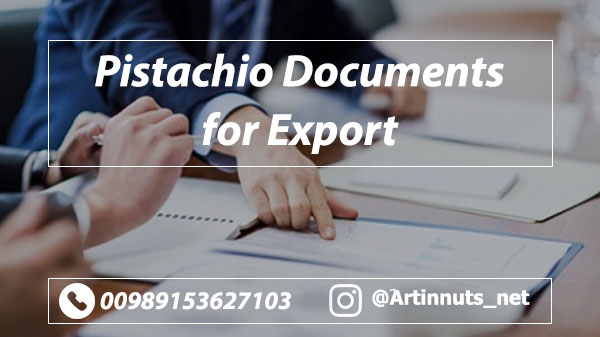 Pistachio Export Documents