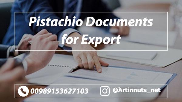 Pistachio Export Documents