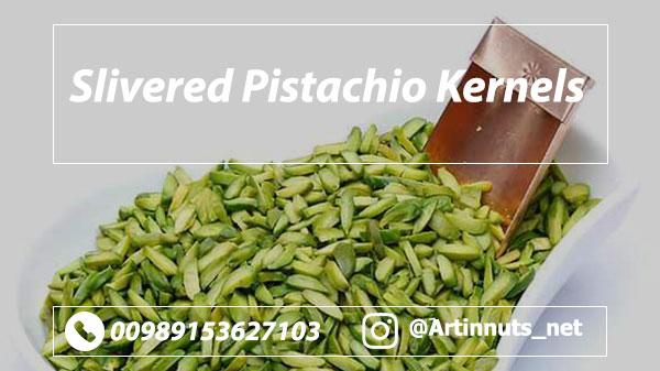 Slivered Pistachio Kernels