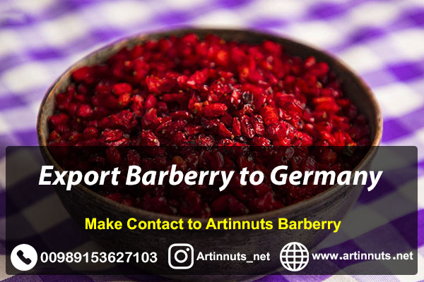 Export Barberry to Germany