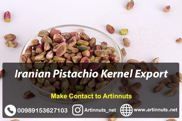 Pistachio Kernel Export
