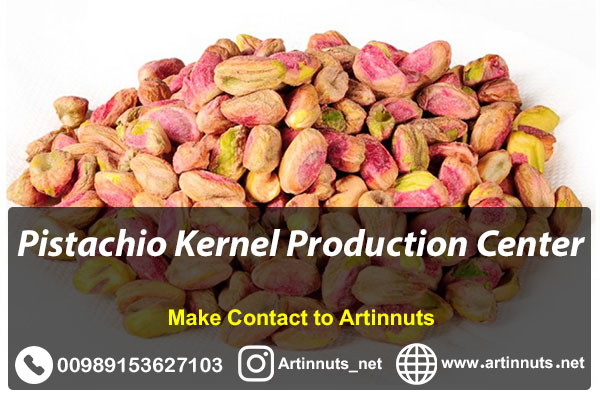 Pistachio Kernel Production