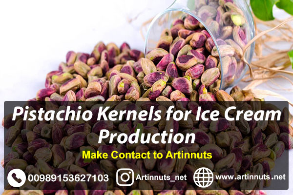 Pistachio Kernels for Ice Cream