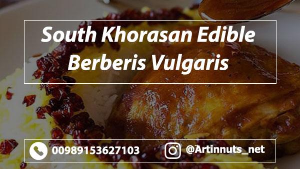 Edible Berberis Vulgaris