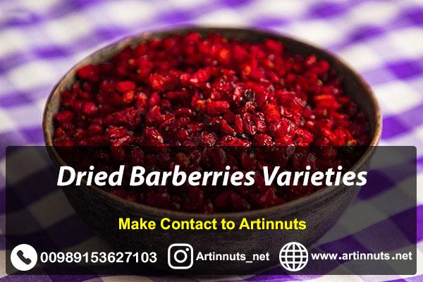 Dried Barberries Varieties