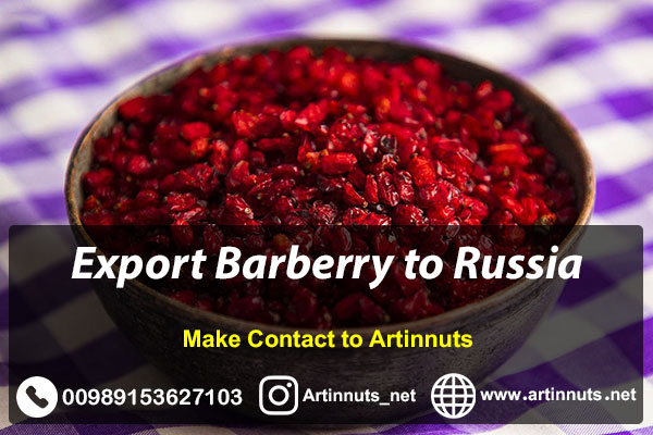 Export Barberry to Russia