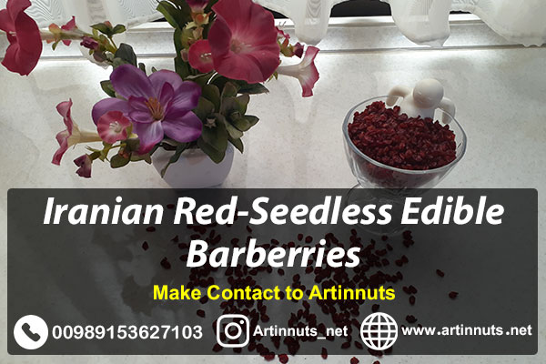 Red-Seedless Edible Barberries