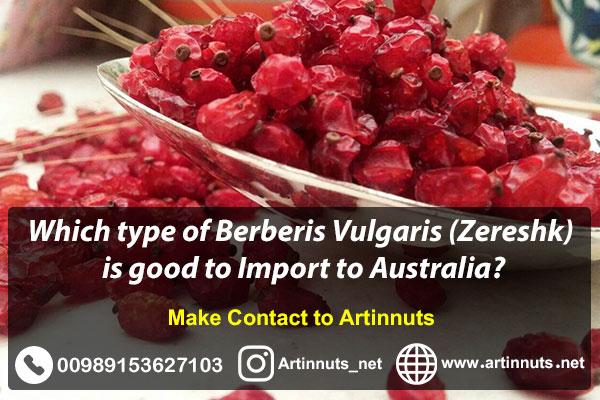 Import Barberry to Australia