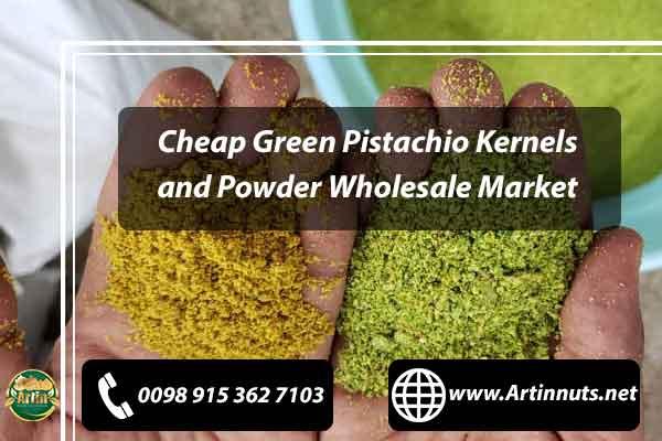 Cheap Green Pistachio Kernels