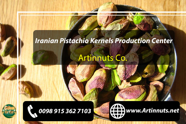 Pistachio Kernels Production