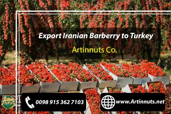 Zereshk Wholesale for Turkey