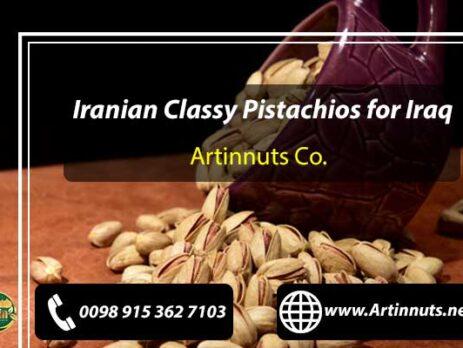 Pistachios for Iraq