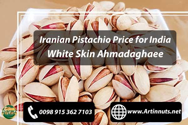 Pistachio Price for India
