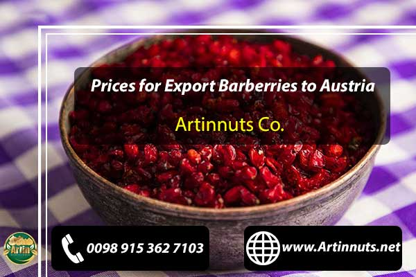 Export Barberries to Austria
