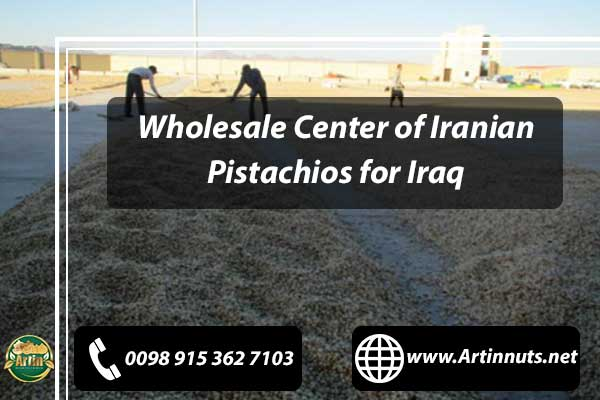 Pistachios for Iraq