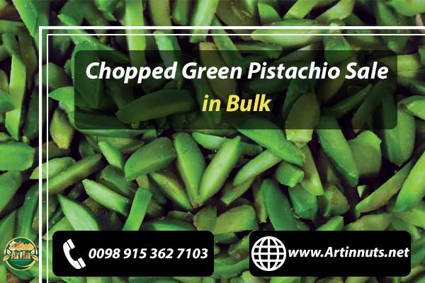 Chopped Green Pistachio Sale