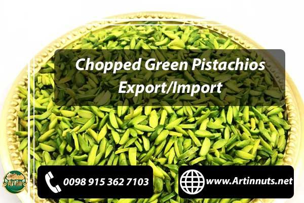Chopped Green Pistachios
