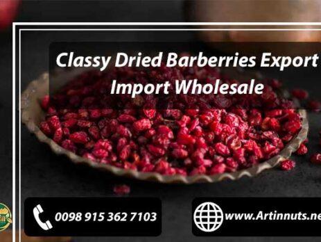 Dried Barberries Export