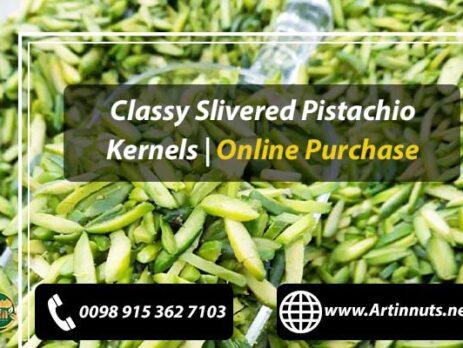 Classy Slivered Pistachio