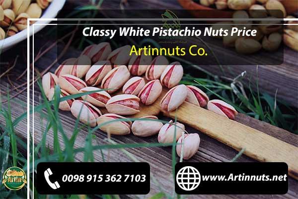 Classy White Pistachio