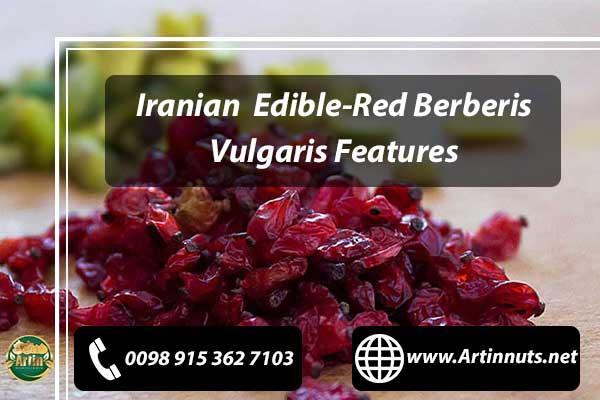 Edible-Red Berberis Vulgaris