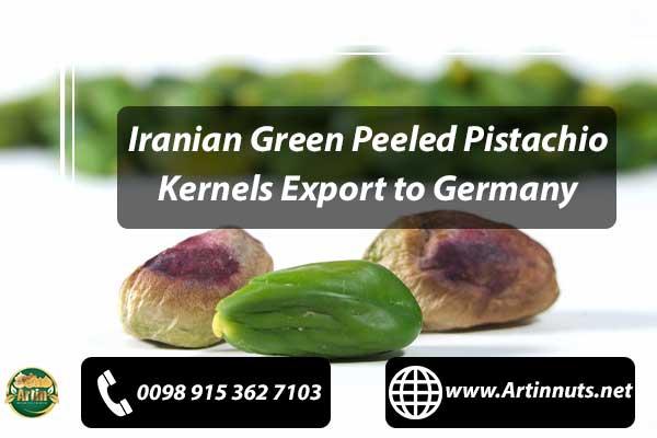 Pistachio Kernels Export to Germany