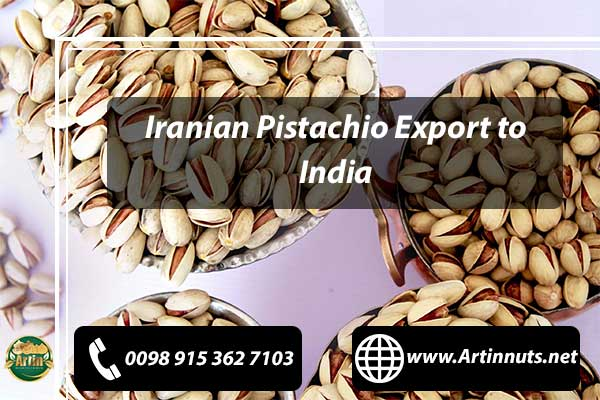 Pistachio Export to India