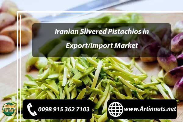 Iranian Slivered Pistachios