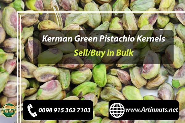 Kerman Green Pistachio Kernels