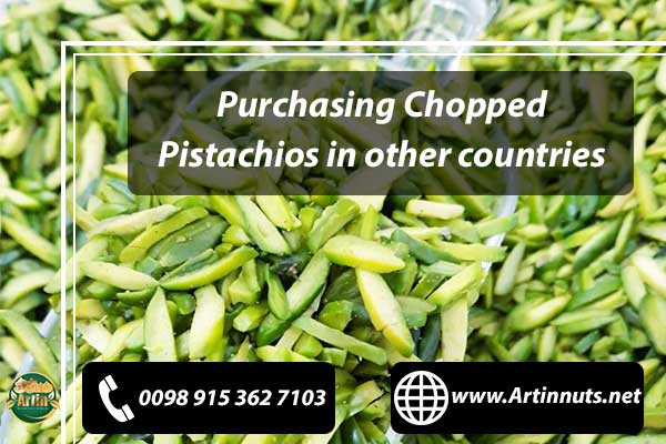 Purchasing Chopped Pistachios