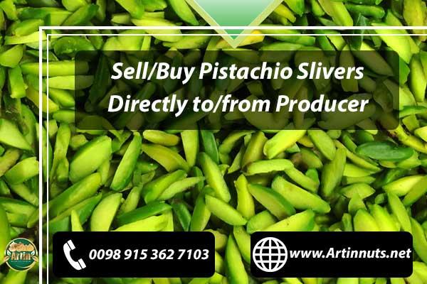 Pistachio Slices and Slivers
