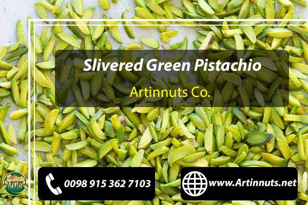 Slivered Green Pistachio