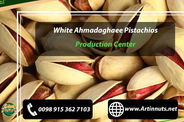 White Ahmadaghaee Pistachios