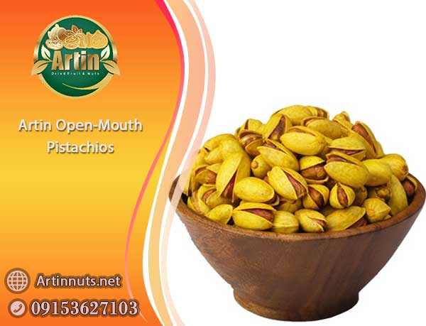 Artin Open-Mouth Pistachios