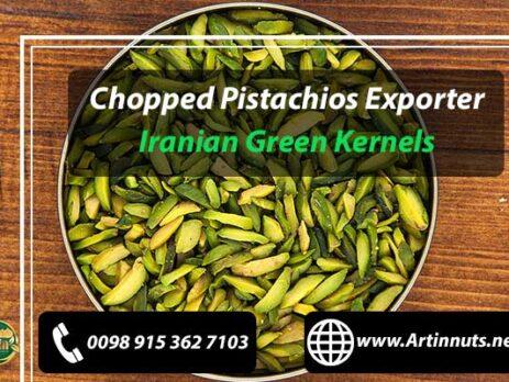 Chopped Pistachios Exporter