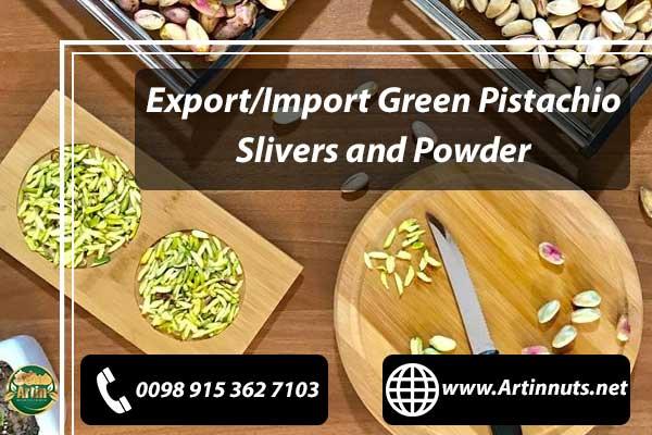 Green Pistachio Slivers