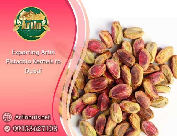 Exporting Pistachio Kernels to Dubai