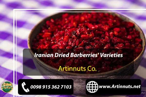 Dried Barberries' Varieties