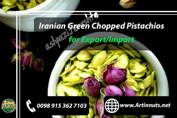Green Chopped Pistachios