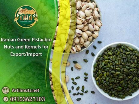 Green Pistachio Nuts and Kernels