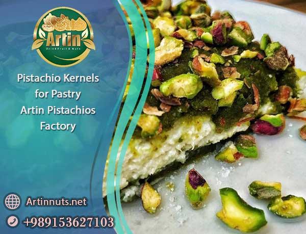 Pistachio Kernels for Pastry