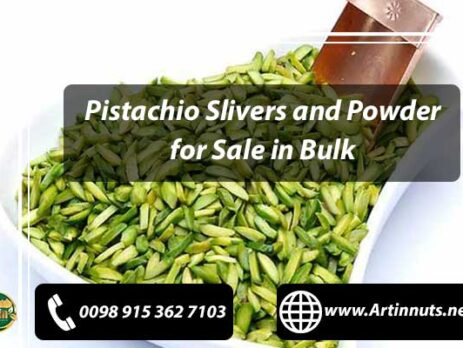 Pistachio Slivers and Powder