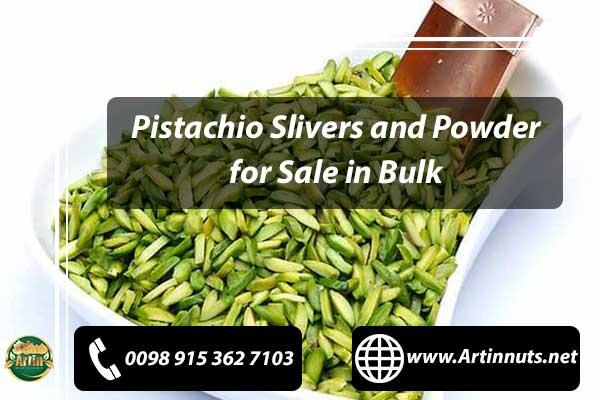 Pistachio Slivers and Powder