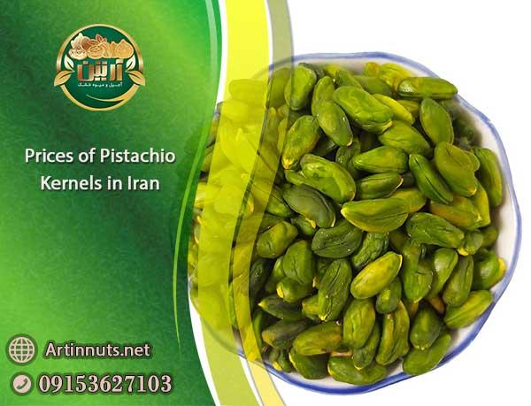 Prices of Pistachio Kernels
