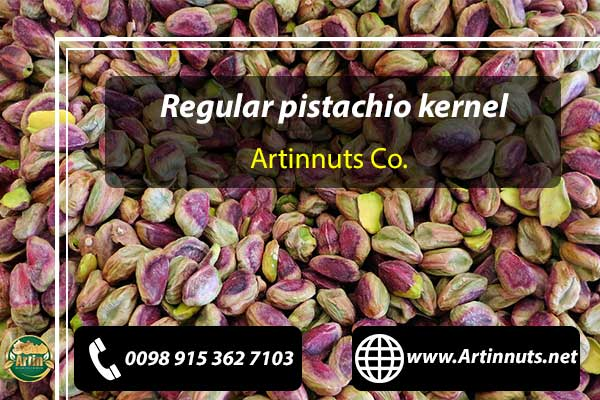 Regular pistachio kernel
