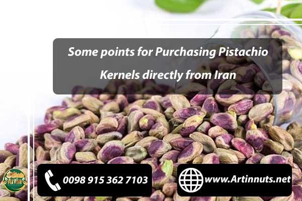 Purchasing Pistachio Kernels
