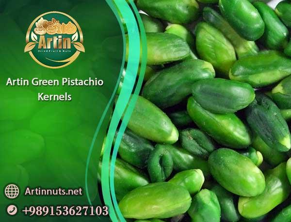 Artin Green Pistachio Kernels