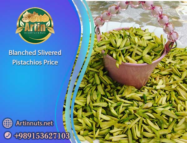 Blanched Slivered Pistachios